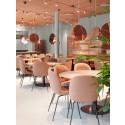 Restaurangen är inspirerad av det japanska kökets förmåga att renodla och förhöja smakupplevelser och texturer av högsta kvalité