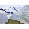 Rekordmye snø smelter i nord