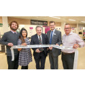 Wrexham MP is guest of honour at new optical store opening