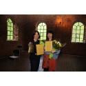 Prisade för sina insatser inom det svenska konstmusiklivet