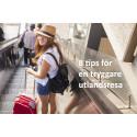 8 tips för en tryggare utlandssemester