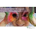 10 miljoner kronor till ung och fri kultur i Västra Götaland