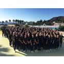 Sveriges olympiska vintertrupp förbereder sig med Olympic Camp på Apollos sporthotell Cavo Spada, Kreta.