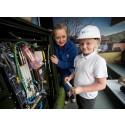 Benarty pupils get a lesson with fibre broadband