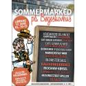 Programmet for sommermarkedet på Lokalcenter Bøgeskovhus lørdag den 17. juni