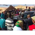 Just nu: Protester när Ban Ki Moon besöker de västsahariska flyktinglägren
