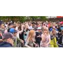 Hundratals skolbarn dansade för dans i skolan