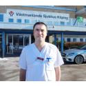 Han blir ny chef för medicinkliniken i Köping