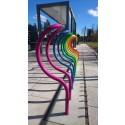 Cykelställ Arc, multi-coloured