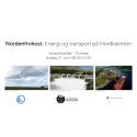 Arrangerer Nordenfrokost om energi og transport på Nordkalotten