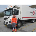Martin Bach er månedens lastbilchauffør