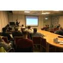 Geomatikk bjöd in till informationsmöte för att underlätta hanteringen av kommunala grävtillstånd