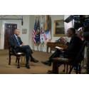 Eksklusivt Obama-interview på HISTORY