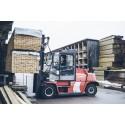 Byggmaterialhandeln i Norra Sverige lyckades tangera förra årets höga siffror.