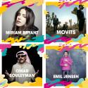 Miriam Bryant, Movits, Omar Souleyman och Emil Jensen m.fl. till Malmöfestivalen!