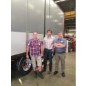 Berg Kapell levererar PVC-lättviktsdörrar till Pacton Trailers Nederländerna