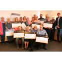Sparbanken Nord - Framtidsbanken delade ut 102 500 i Piteå