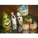 Fira en läskigt, fruktig och söt honungs-Halloween