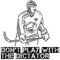 Vitryske diktatorn Lukasjenka spelar hockey i Stockholm