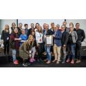 Lapplands gymnasium kammade hem Guldtrappans hedersomnämnande