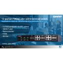 12-portars 10GbE icke-administrerad switch