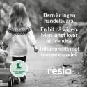 Resia tar ställning mot barnsexhandel - stödjer ECPAT och Musikhjälpen