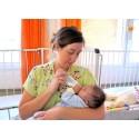 Volontärerna är väldigt viktiga för bebisarna på sjukhuset