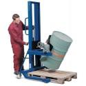 Ex-klassad hydraulisk fatlyft för plastfat och stålfat.