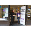 Focus on stroke - 40 Chippenham residents have vital blood pressure checks at Vision Express during national 'Make May Purple' push