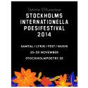 10TAL: Stockholms Internationella Poesifestival 2014