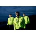 De tre velgørenhedsløbere fra løbeklubben KUUL