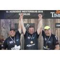 Pontus Skye ny nordisk mästare i Timbersports – Sverige äger prispallen för andra året i rad