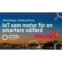 Inbjudan att delta i Nätverksdagen Internet of Things som motor för den smartare välfärden