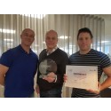 Ingram Micro Sverige fick det prestigefyllda priset Network Partner of the Year!