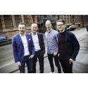 Niklas, Lars, Ludvig och Martin