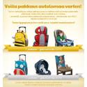 Lastenvaunuja erikoishintaan / Voita tuotteita autolomaa varten! / ALE Säilytys tuotteista