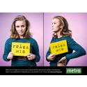 """Premiär för TV-formatet """"Fråga mig"""" på metro.se"""