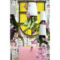 Inred med Krukväxter i stilen Alice in Wonderlodge