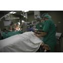 Gaza: Sjukhus överfulla av skadade