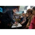 Bridge of Weir pupils get a lesson with fibre broadband
