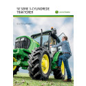 John Deere 5E Serie 3-cylindrede traktorer - 50 til 75 hk.