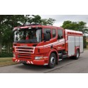 Scania P 360 CrewCab på brandbilmesse i Aalborg