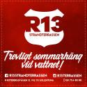 Nu öppnar R13 strandterrassen för sommaren