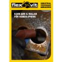 Flexovit K20N slipduksark och -rullar - Broschyr