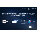 Eutelsat: NASA TV UHD sbarca sul tasto 211 di Tivùsat, la piattaforma satellitare gratuita diffusa via HOTBIRD