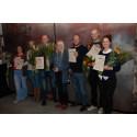 Sex uppfödare fick utmärkelsen Exceptionell Råvara