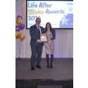 Sunderland mother and stroke survivor receives regional recognition