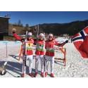 Stafettgull i junior-VM