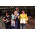Mester Grønn, Dressmann og Sauda kommune vant Fairtrade-priser