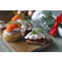 400 ton hållbar sill dukas upp på svenska julbord